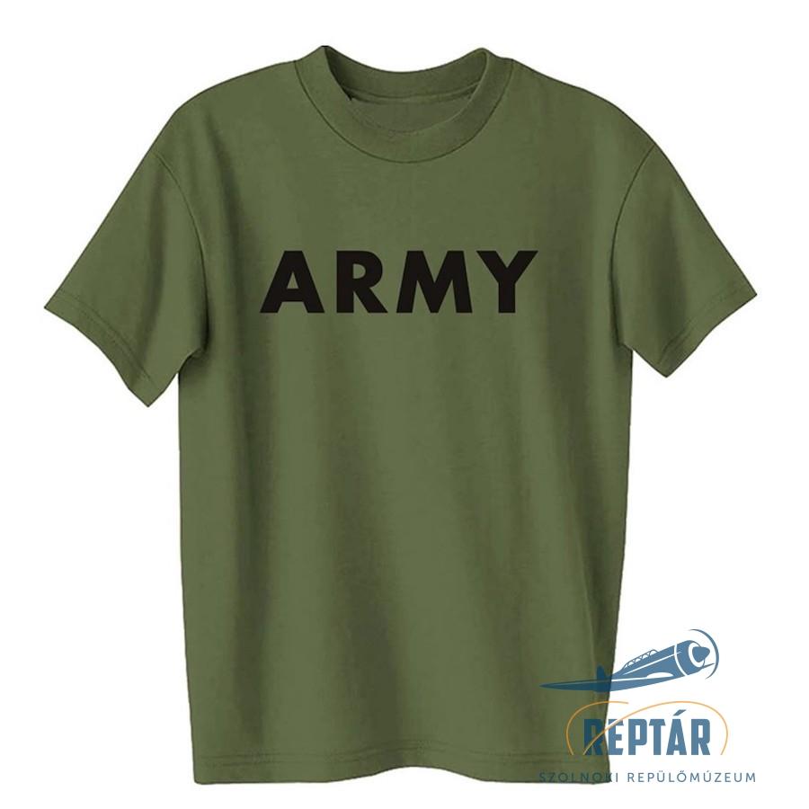'ARMY' feliratú póló